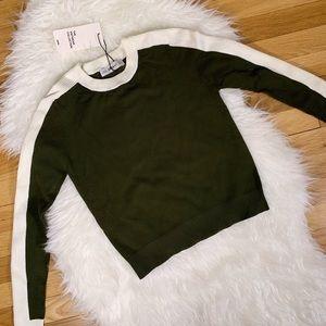 Zara Sweaters - NWT Zara Green Cropped Sweater